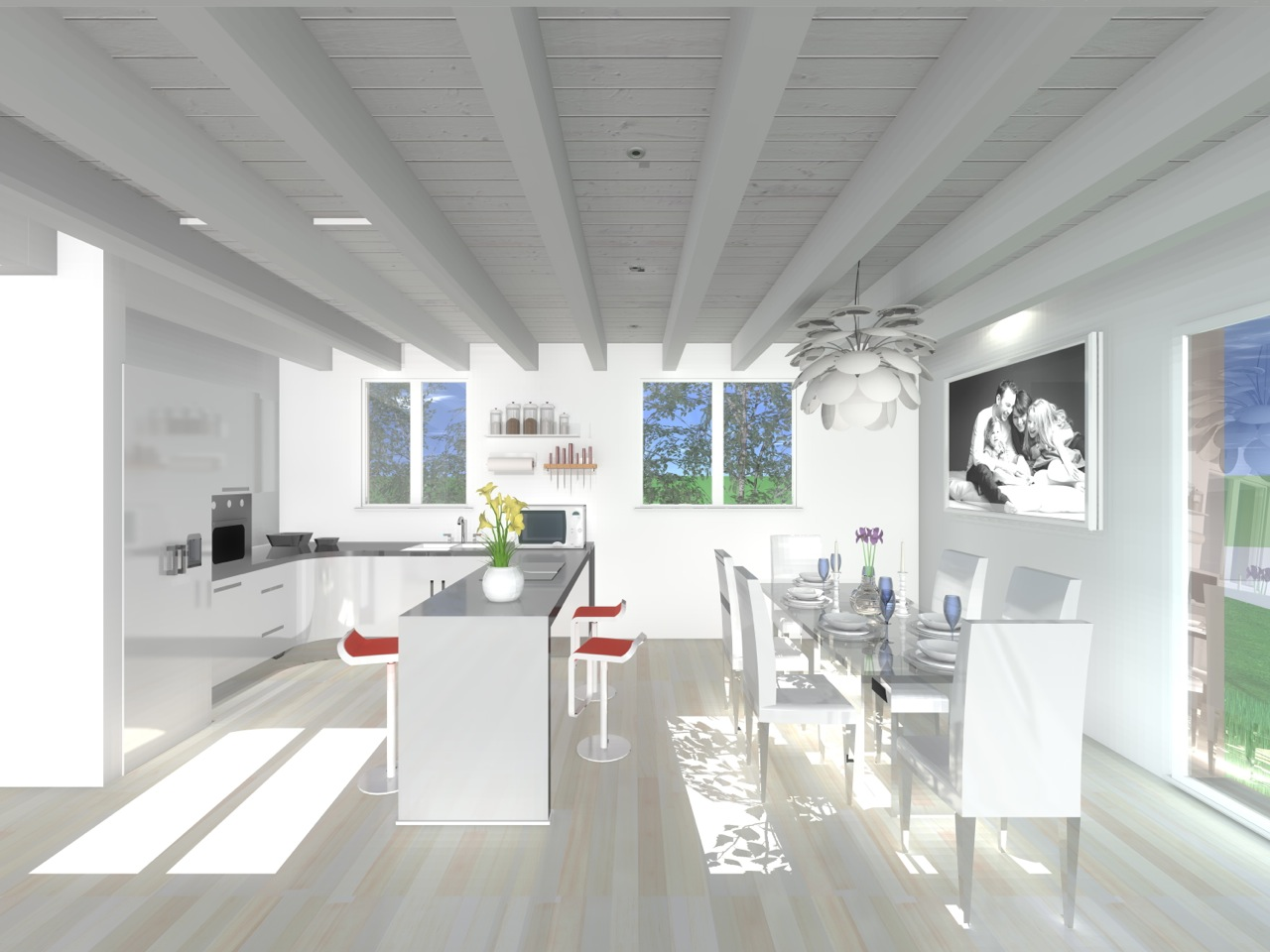 Detached House For Sale in Fribourg - 5 Photos