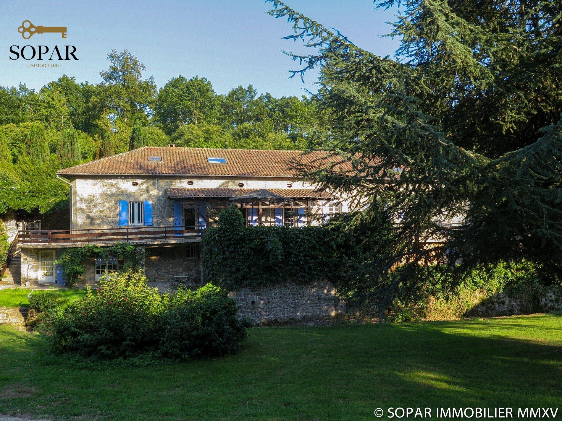 Achat-Vente-Maison-Limousin-HAUTE VIENNE-MARVAL
